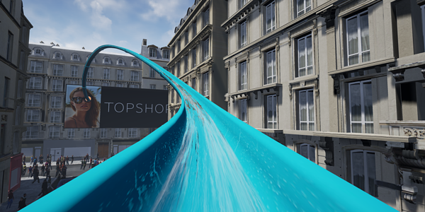 Topshop Water slide