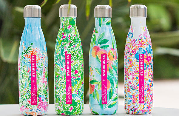 Lilly Pulitzer bottles